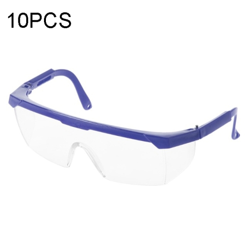 Dental Lab Safety Glasses Goggles Eye Protective Eyewear Clear PC Lens 5 Pcs