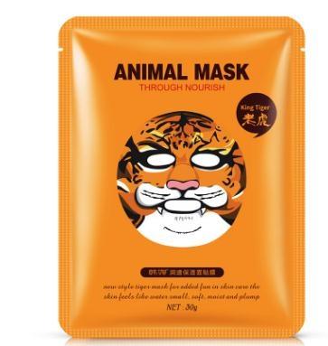 Beauty & Health Cute Tiger/panda Facial Mask Whitening Moisturizing Oil Control Animal Face Masks Skin Care Skin Care