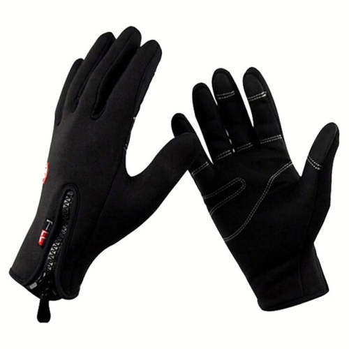 Winter Thermal Anti-slip Windproof Gloves for Riding Mountaineering Neoprene Touchscreen Breathable Gloves, Gloves Size:M(A0044)