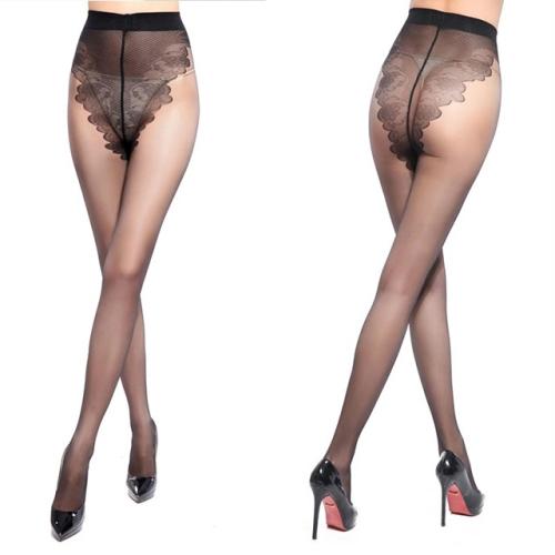 3 Pairs Sexy Stockings Summer Thin Tights High Elastic Underwear Women Lingerie Nylon Pantyhose Long Thigh Medias Girl Panty(Black )
