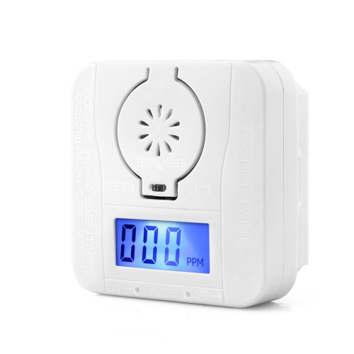 Home Security LCD CO Carbon Monoxide Detector  Poison Gas Warning Sensor Monitor