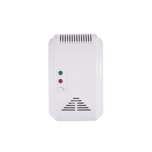 Wall-mounted Home Security Control Coal Gas Natural Gas LPG Leaking Detector, AC 110-240V, US Plug