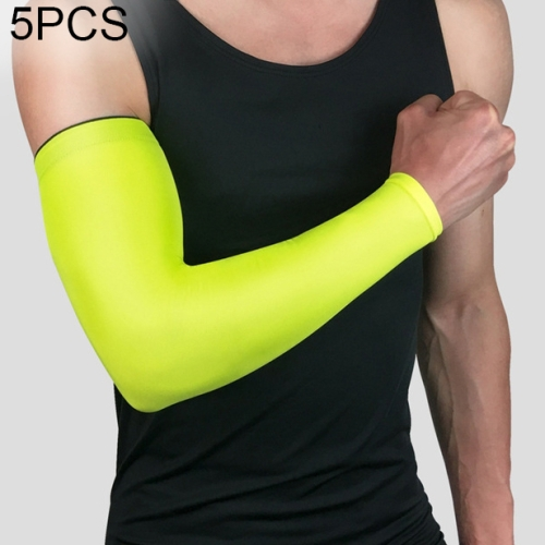 Running Arm Sleeves Basketball Elbow Pad Fitness Armguards Breathable Quick Dry Uv Protection Sports Cycling Arm Warmers Men's Arm Warmers Men's Accessories