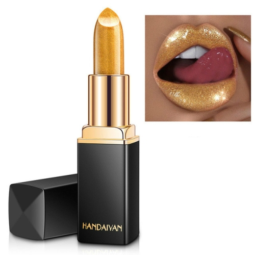 HANDAIYAN Brand Professional Lips Makeup Waterproof Long Lasting Lipstick(01)