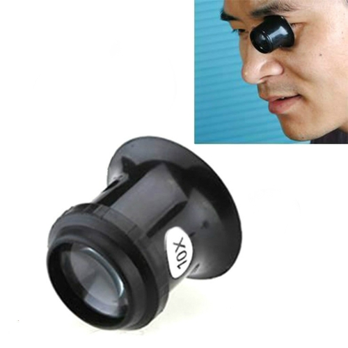 Watch Repair Tool Eyepiece Repair Watch Eye Mask Magnifier, Color:10X