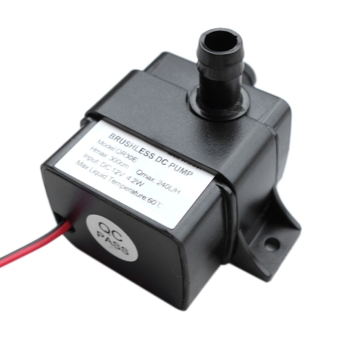 240L/H Ultra-quiet Flow Rate Waterproof Brushless Pump Mini Submersible Water Pump
