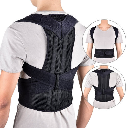 d2a7b8d5f2 Back Posture Corrector Shoulder Lumbar Brace Spine Support Belt Adjustable  Adult Corset Posture Correction Belt Body Health Care ...