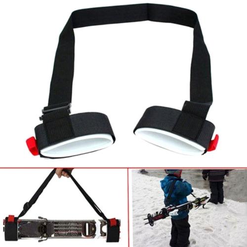 Adjustable Portable Snowboard Nylon Fixed Strap, the Longest: 1.2m