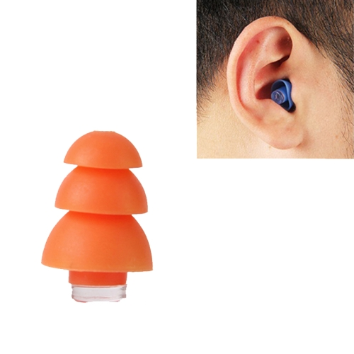 sunsky-online.com - 15% OFF by SUNSKY COUPON CODE: TBD0532086001 for Anti-Noise Sleep Earplugs Silicone Soundproof Earplugs Industrial Noise Reduction Silent Earplugs(Orange)