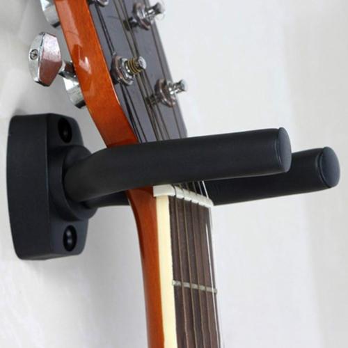 Metal Wall Hook for Guitar / Ukulele(Black) фото