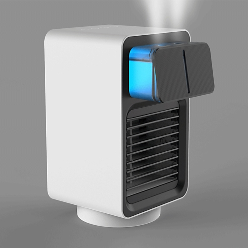 sunsky-online.com - 15% OFF by SUNSKY COUPON CODE: TBD05345337 for Humidifier Heater Dual Jet Heater 120 Degree Rotating Household Mini Car Humidifier,CN Plug