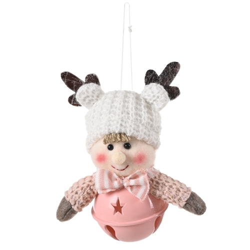 sunsky-online.com - 15% OFF by SUNSKY COUPON CODE: TBD0534838801 for 5 PCS Christmas Decorations Antlers Child Bell Pendant(Boy)