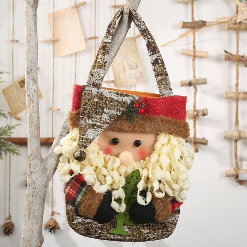 sunsky-online.com - 15% OFF by SUNSKY COUPON CODE: TBD0535013101 for Christmas Decorations Lmitation Tree Bark Gift Bag(Old Man)