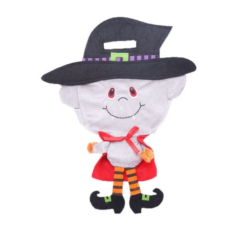 sunsky-online.com - 15% OFF by SUNSKY COUPON CODE: TBD0535017501 for 2 PCS Halloween Decorations Gift Bag Cartoon Children Party Dress Up Candy Bag(Zombie)