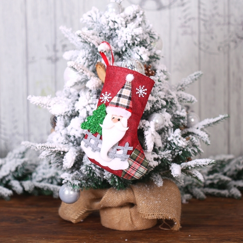 sunsky-online.com - 15% OFF by SUNSKY COUPON CODE: TBD0535018601 for 2 PCS Christmas Decorations Medium Dolls Socks Gift Bags Christmas Tree Home Sccessories(The Elderly)