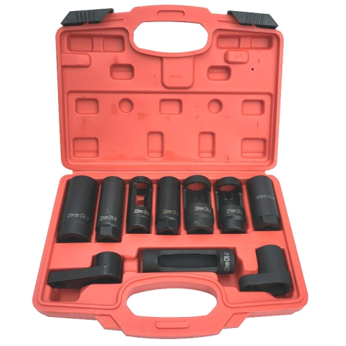 sunsky-online.com - 15% OFF by SUNSKY COUPON CODE: TBD05350196 for 10 In 1 Oxygen Sensor Sleeve Removal Tool Wrench Set