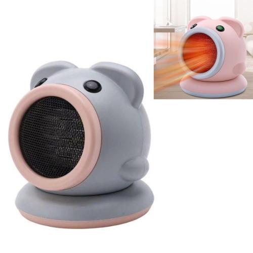 sunsky-online.com - 15% OFF by SUNSKY COUPON CODE: TBD0535746902 for Mini Home Desktop Silent Pig Heater CN Plug, Colour: Gray