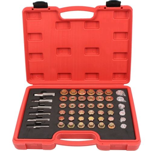 sunsky-online.com - 15% OFF by SUNSKY COUPON CODE: TBD0535891102 for Car Oil Pan Oil Drain Screw Sliding Tooth Repair Tool Oil Bottom Screw, Specification:114 PCS In 1
