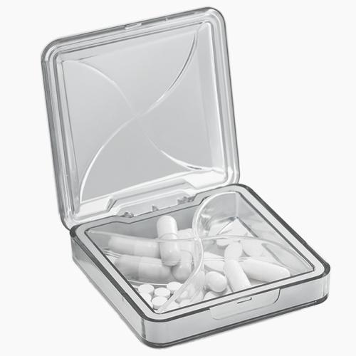 sunsky-online.com - 15% OFF by SUNSKY COUPON CODE: TBD0535892401 for 3 PCS Large-capacity Portable Medicine Box For One Week Portable Mini Sealed Medicine Box(White)