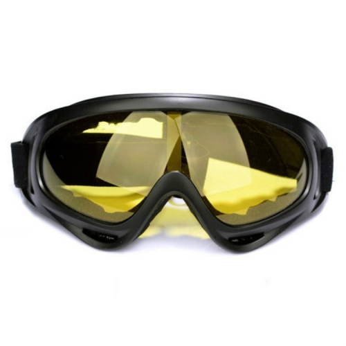 Windproof UV Resistant Ski Goggles Multi-functional Outdoor Sport Goggles(Yellow Lens)
