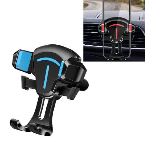 sunsky-online.com - 15% OFF by SUNSKY COUPON CODE: TBD0536996701 for 2 PCS Car Phone Holder Air Outlet Car Navigation Bracket Instrument Panel Bracket, Style:Air Outlet(Blue)