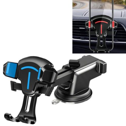 sunsky-online.com - 15% OFF by SUNSKY COUPON CODE: TBD0536996702 for 2 PCS Car Phone Holder Air Outlet Car Navigation Bracket Instrument Panel Bracket, Style:Sucker(Blue)