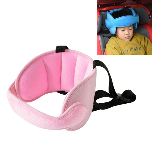 Child Car Seat Head Support Comfortable Safe Sleep Solution Pillows Neck Travel Stroller Soft Caushion(Pink)