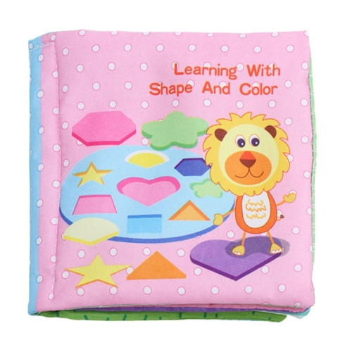 Baby Rattles Toy Soft Animal Cloth Book Newborn Stroller Hanging Toy Early Learning Education Baby Toys(Vegetable)