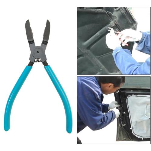 17.5cm Car Plier Auto Car Trim Clip Door Panel Diagonal Plier Rivets Fastener Trim Clip Cutter Remover Puller Tool