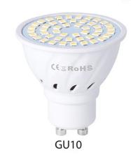 LED Concentrating Plastic Lamp Cup Household Energy-saving Spotlight(White Light)