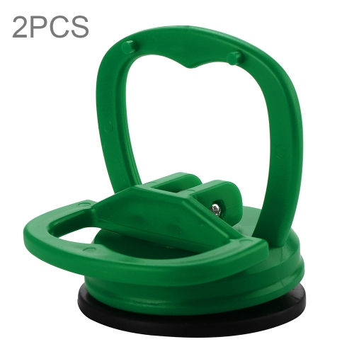 2 PCS Mini Car Dent Repair Puller Suction Cup Bodywork Panel Sucker Remover Tool(Green)