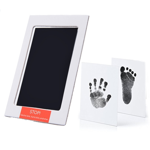 with Silicone Mold Baby Handprint and Footprint KIT /& Ultrasound Picture Frame