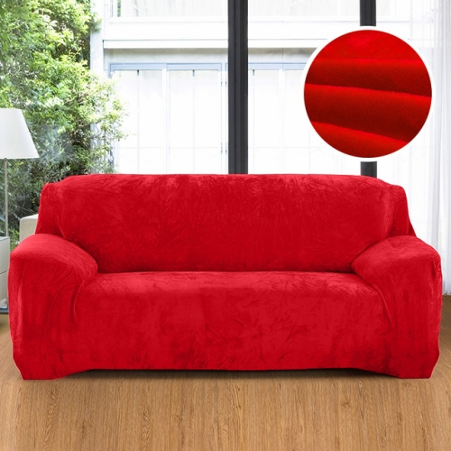SUNSKY - Plush Fabric Sofa Cover Thick Slipcover Couch ...