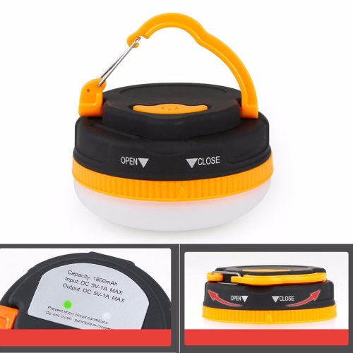 Multifunctional Portable Outdoor Camping Emergency Lights LED Flashlight Lantern Torch Tent Lamp