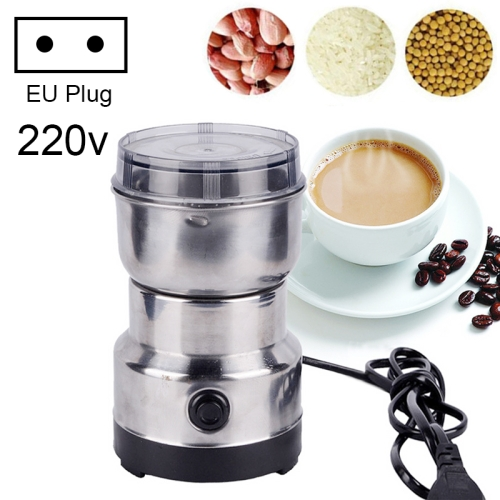Multi-functional EU Plug Coffee Grinder Stainless Electric Herbs/Spices/Nuts/Grains/Coffee Bean Grinding фото