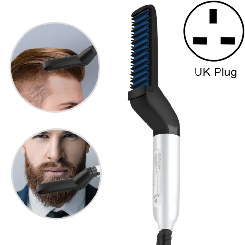Men Multi-Function Hair Comb Personal Care Beard Style Comb