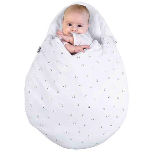 Newborn Baby Cartoon Egg Shaped Sleeping Bag Winter Baby Stroller Bed Bedding