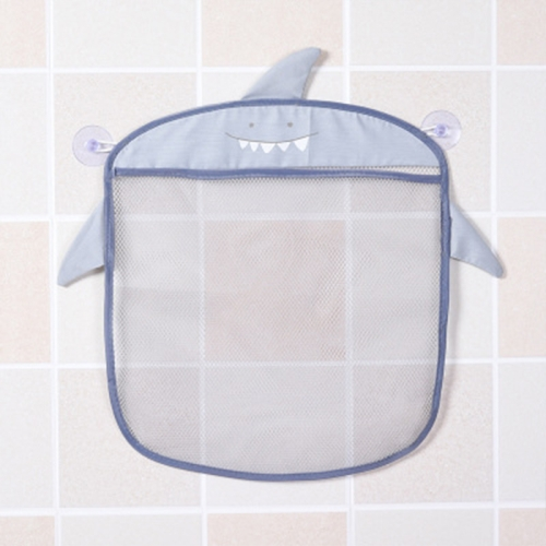 Multi-function Sundries Storage Bag Baby Bathroom Mesh Bag for Toys(Grey )