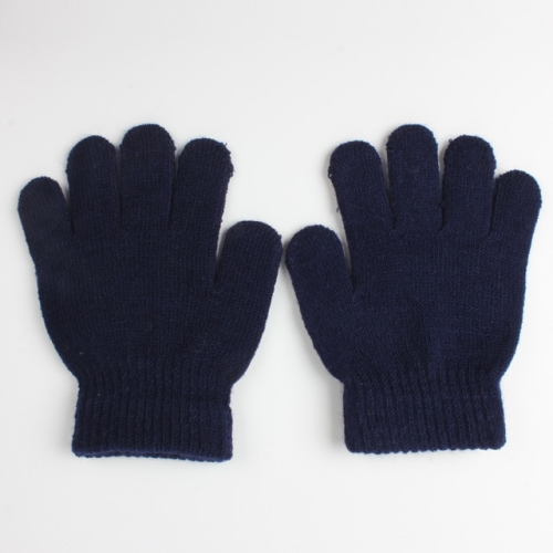 1 Pair Kid/'s Winter Gloves Solid Color Gloves 6 Styles 13CM Warm Knitted Gloves