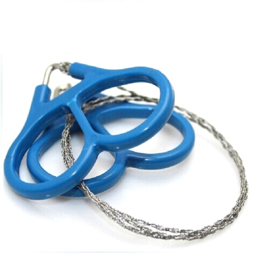 5pcs Hiking Camping Stainless Steel Wire Saw Emergency Travel Survival Gear Tool