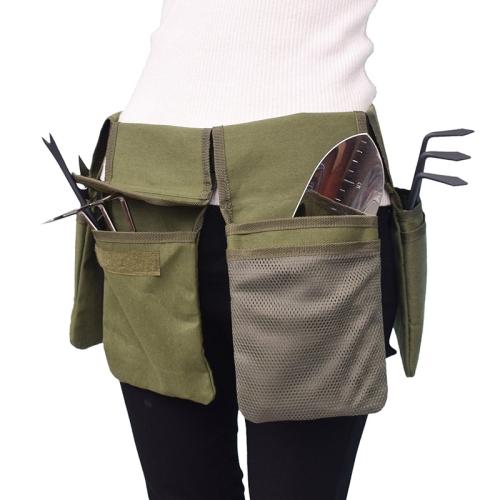 Garden Canvas Tool Belt Waist Bag, Canvas Garden Tool Bag