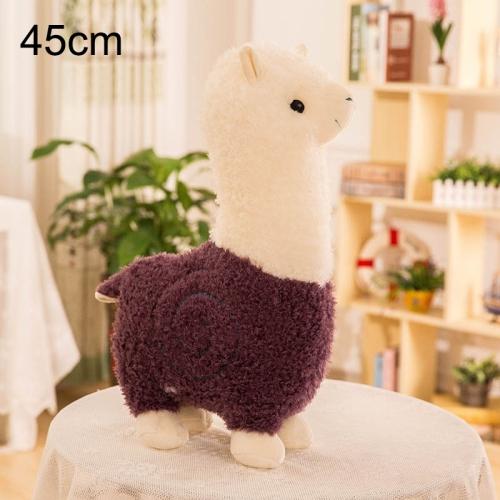 Grass Mud Horse Llama Alpaca Sheep Fluffy Stuffed Doll Plush Children Toy MA
