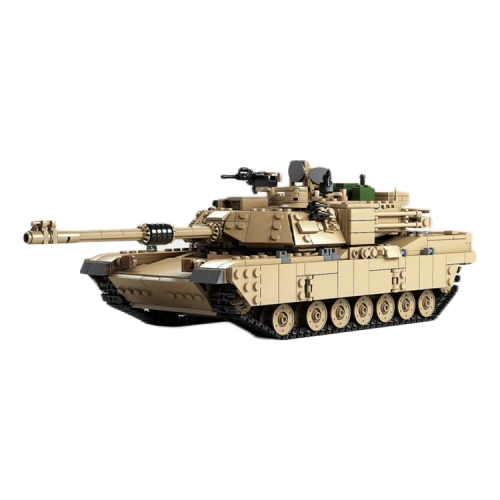 Buy KAZI Century Military M1A2 2 in 1 Abrams Military Tank Toys 1:28 & 1:18 Hummer Cars Building Blocks Toys, Age Range: 6 Years Old Above for $31.23 in SUNSKY store