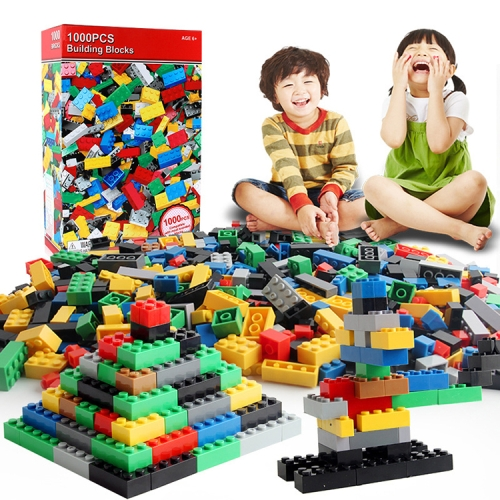 1000 in 1 Intelligent Toys DIY ABS Material Building Blocks, Random Color Delivery
