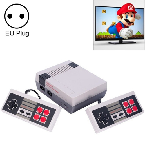 Retro Classic TV Mini HDMI HD Video Game Console, Built-in 600 Games, EU Plug hd hdmi output mini tv handheld game console video game console for nes games with 500 different built in games 4k tv pal