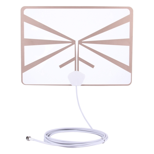 Buy HDA-033H2 Wall-mountable Ultra-thin Digital HDTV Antenna Indoor High-definition Digital TV Aerial, White for $10.16 in SUNSKY store