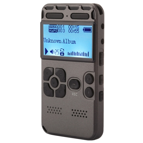 Buy VM181 Portable Audio Voice Recorder, 8GB, Support Music Playback / TF Card / LINE-IN & Telephone Recording for $25.22 in SUNSKY store