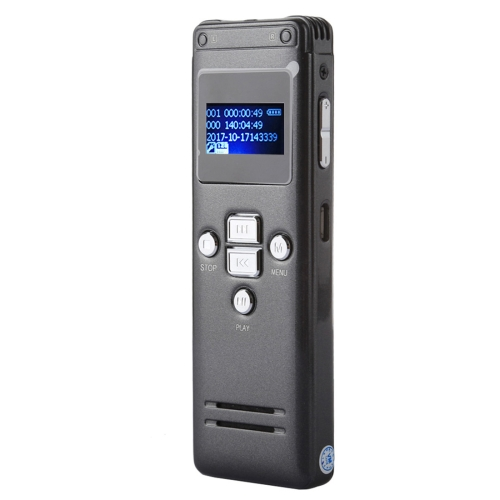 Buy VM183 Portable Audio Voice Recorder, 8GB, Support Music Playback / TF Card / LINE-IN & Telephone Recording for $22.05 in SUNSKY store