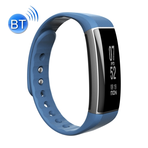 Buy Zeblaze Zeband 0.94 inch OLED Touch Screen Bluetooth 4.0 Life Waterproof Fitness Tracker Smart Bracelet for Android 4.3 / iOS 8.0 and Above System, Support Call Reminder / Heart Rate / Pedometer / Sleep Monitor / Swimming Mode, Blue for $23.27 in SUNSKY store