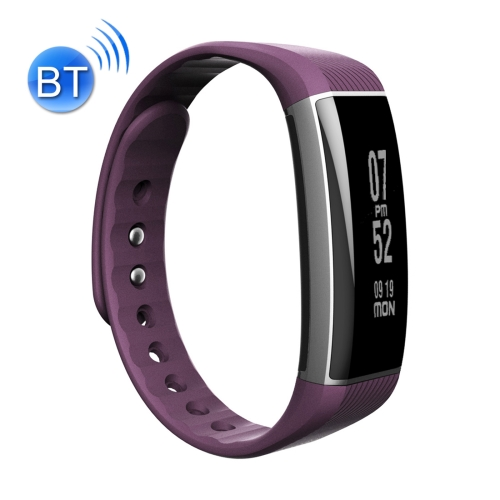 Buy Zeblaze Zeband 0.94 inch OLED Touch Screen Bluetooth 4.0 Life Waterproof Fitness Tracker Smart Bracelet for Android 4.3 / iOS 8.0 and Above System, Support Call Reminder / Heart Rate / Pedometer / Sleep Monitor / Swimming Mode, Purple for $23.27 in SUNSKY store